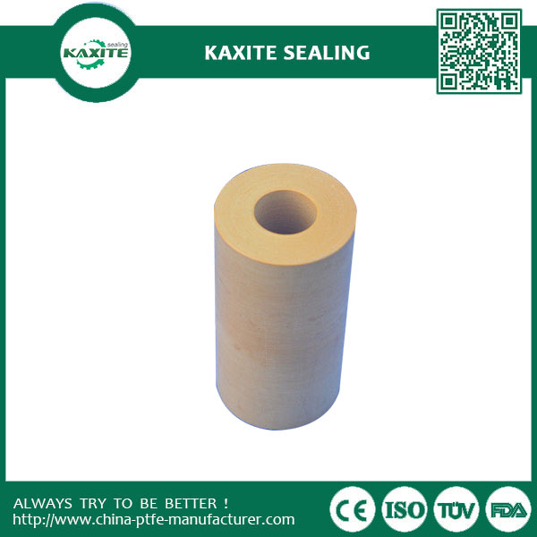 Carbon Filled Extruded Ptfe Teflon Tube For Heat Exchangers Insulated Wiring Jacket