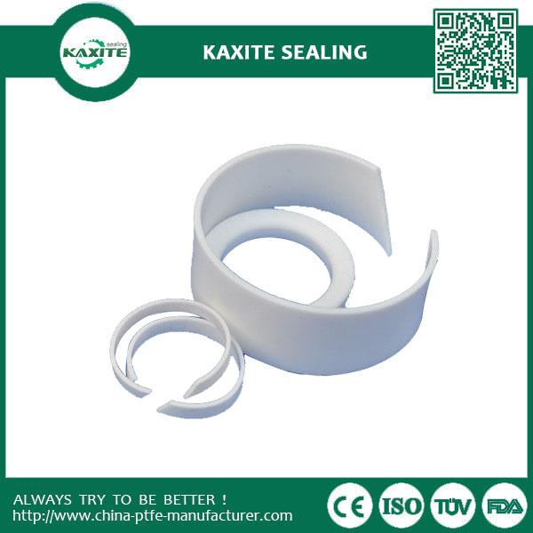 Whtie Custom Designed Non-stick Self-lubricating Ptfe Industry Machining  Ptfe NUT
