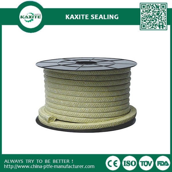 Soft Ptfe Packing With White Color With Special Lubricant
