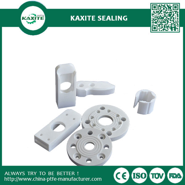 High Precision PTFE Machining Molded Parts  Glass Fiber Or Carbon Fiber Filled