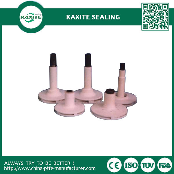 Low Friction Coefficient  High Resistant Ptfe Machining Spare Part Of Pump