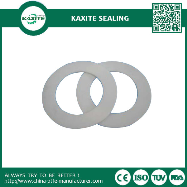 Excellent Insulation Virgin Ptfe Teflon Gasket With Excellent Non-sticky Property