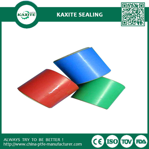 Colored PTFE Teflon Film Excellent Dielectric Acid Resistance Fiberglass Filled
