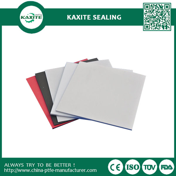 Virgin Performs Well With Eevated Temperatures Teflon Ptfe Sheet Colorful PTFE Plate