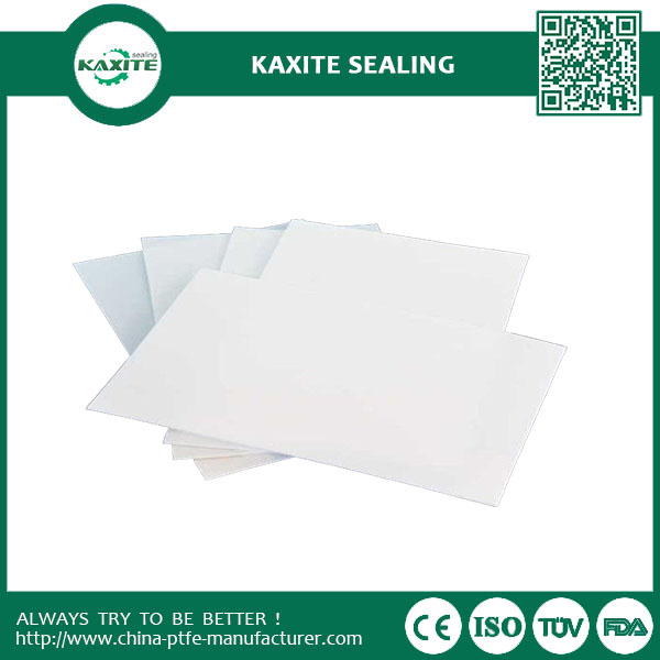 White Slippery Teflon Ptfe Sheet  Virgin Ptfe Moulded Sheet