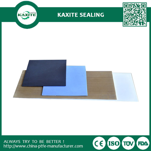 White Recycled Teflon Ptfe Sheet Non-Sticky With Good Heat Resistance