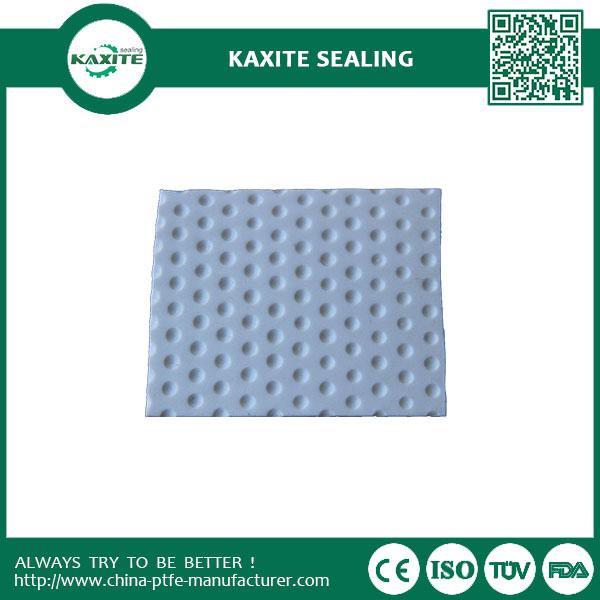 Graphite Filled Teflon PTFE Sheet  Dimple Plates for Bridge