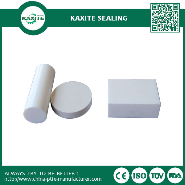 White Natural Recycled Teflon PTFE Sheet Teflon Sheeting  Carbon Filled Plate