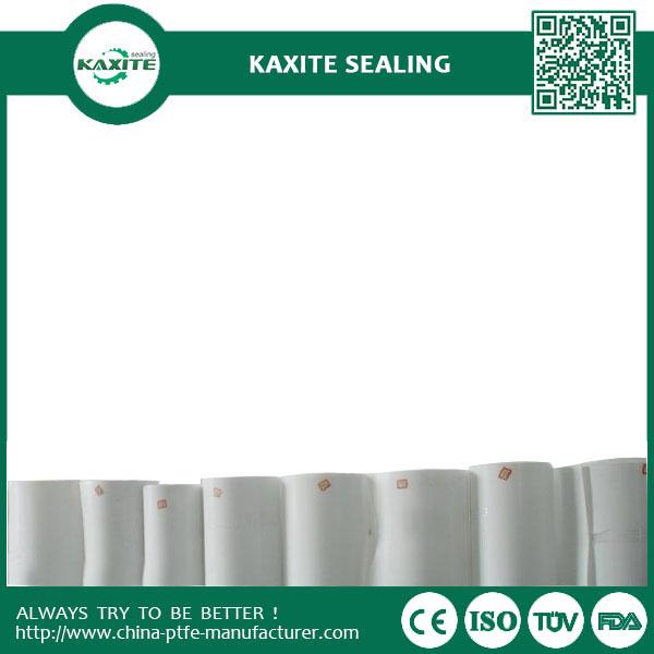 Recycled Materials PTFE Cut Plate  PTFE Skived Sheet  Custom Designed PTFE teflon skiving roll