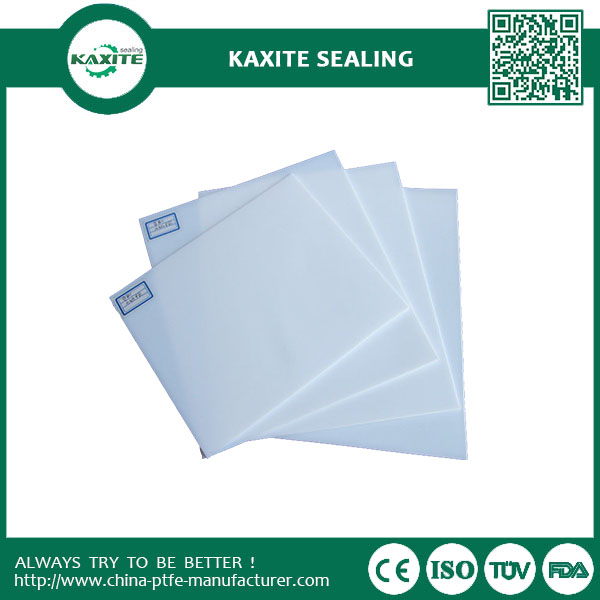 Virgin Custom Designed Teflon Ptfe Sheet with non-sticky property  Excellent Chemical property ptfe skived plate