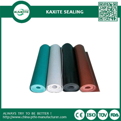 All sizes color skived teflon ptfe sheet with chemical corrosion resistance