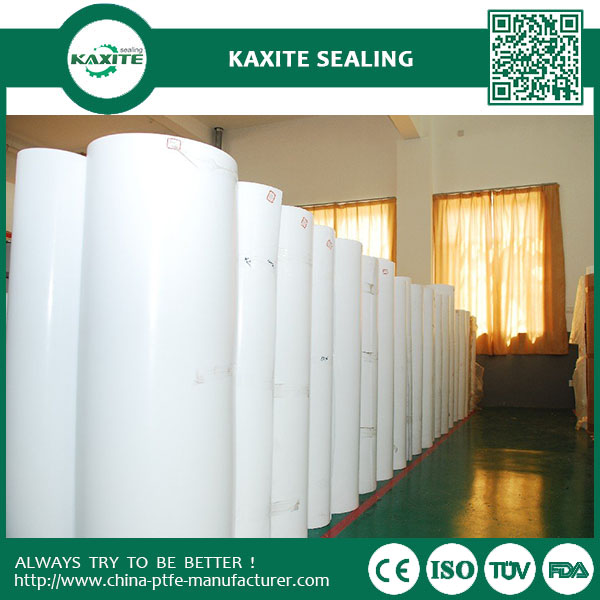 0.1 mm Virgin and recycled teflon ptfe skiving sheet with excellent chemical property