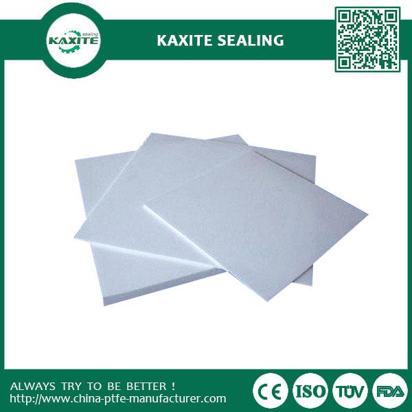 Pure Non-sticking Teflon Ptfe Molded Sheet  Anti-corrosion  Lined Materials