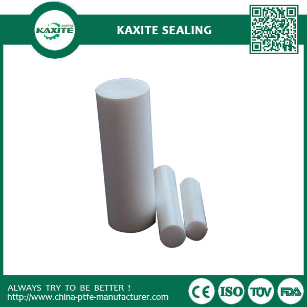 Custom Designed Extruded Rod  Moulded Rod  PTFE Bar  Ptfe Stick The Lowest Coefficient of Friction