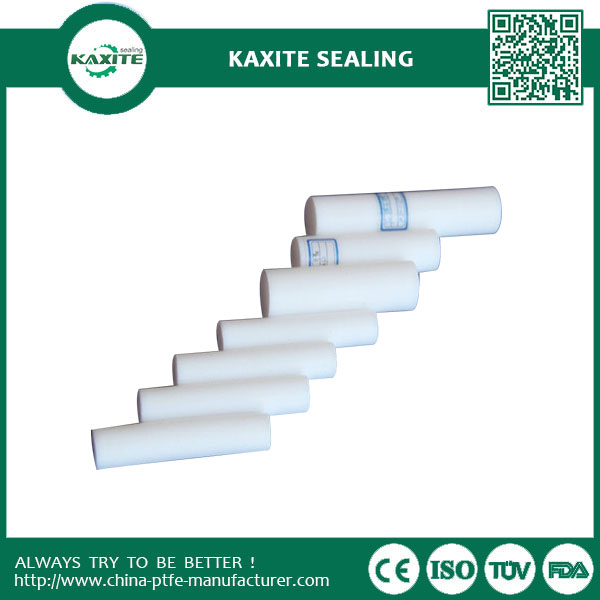 Non-ageing  Airproof  virgin PTFE Teflon Moulded ROD  Hight Lubricity Ptfe Teflon Rod