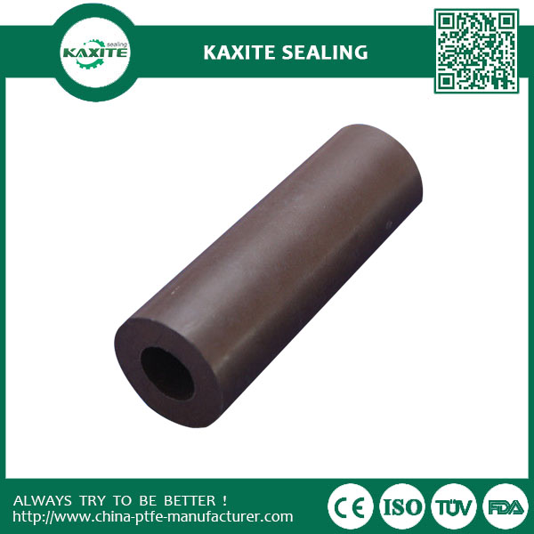 Carbon  Graphite And Glass Fiber Ptfe Teflon Tube Filled Pipe