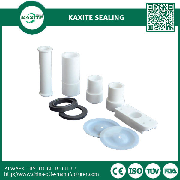 Molded Insulation PTFE Machining  Heat Resistance Filled Glass Fiber