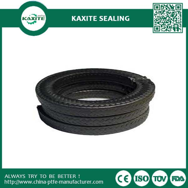 Black Graphite Ptfe Packing Corrosion Resistant With Good Lubricity