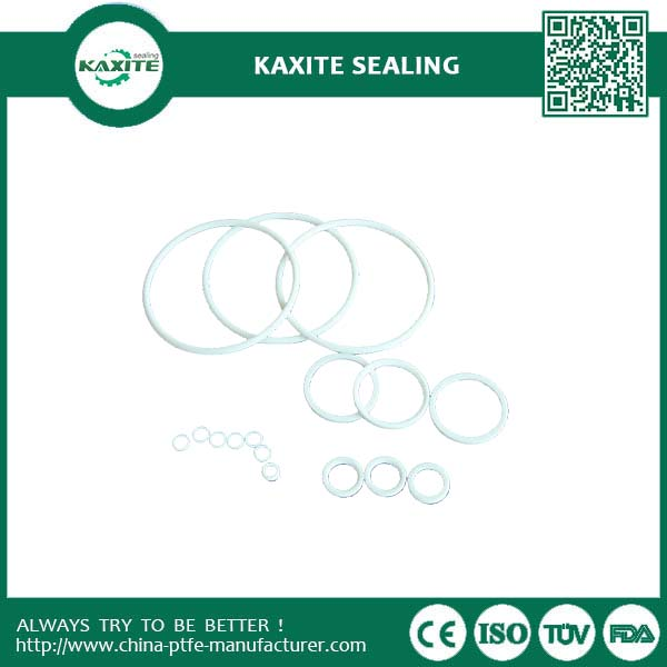 Color code nonstick low co-efficient friction ptfe o-rings with competitive price