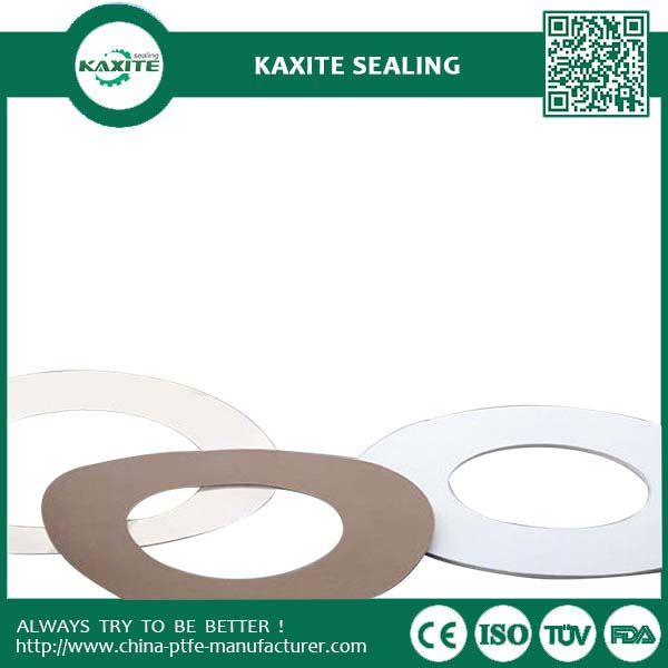 Natrual Color  Virgin Expanded PTFE Sheets 1200mm  Soft Sealing