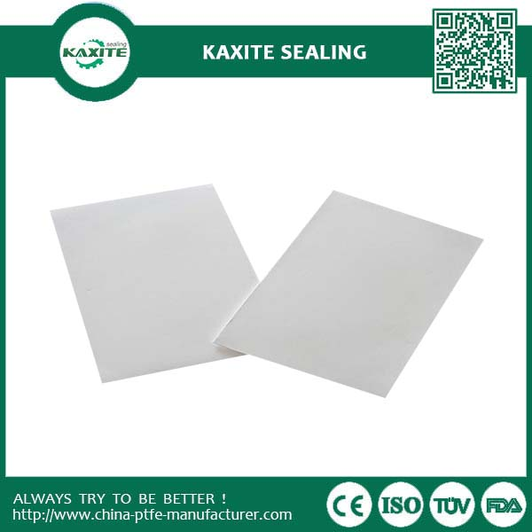 PTFE Expanded Sheet of Different Thickness E-PTFE Foamed Sheet Teflon Sheet