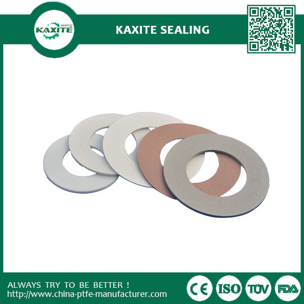 Colorful Pigment Filled PTFE Gasket Compression Recovery Sealing Performance