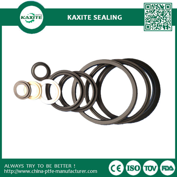 White Ptfe Machining High Precision  Plastic Seal Gaskets Customized