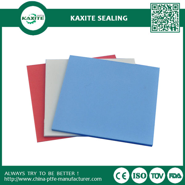 Glass Fiber Filled Skived Teflon Sheets 1500mm Blue Ptfe Sheet