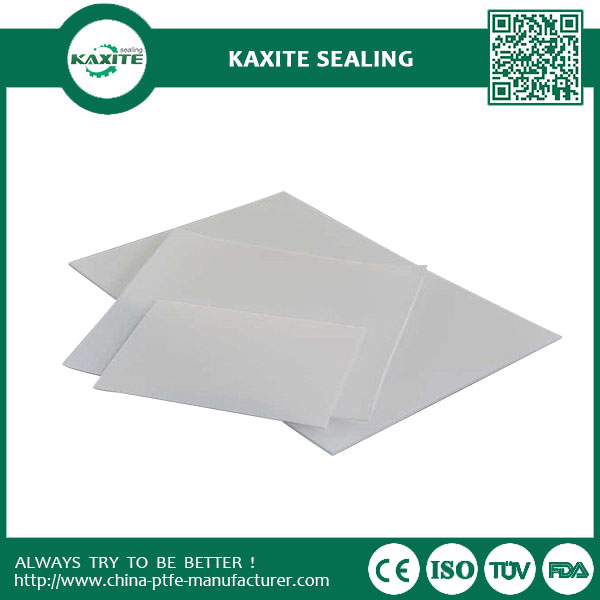 Insulation White Teflon Ptfe Sheet Skived Recycled With Good Heat Resistance