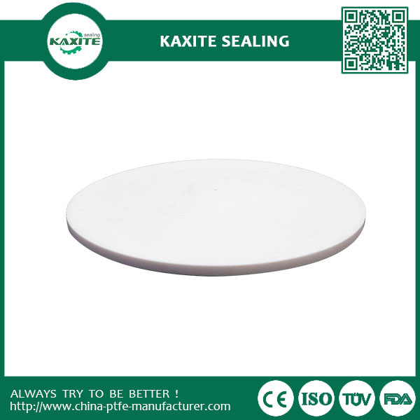 High Temperature Plastic Teflon Ptfe Sheet White With Graphite  Carbon  Bronze Filling