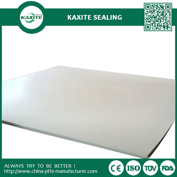 White Teflon Ptfe Sheet 3mm - 50mmwith Excellent Chemical And Heat Resistance