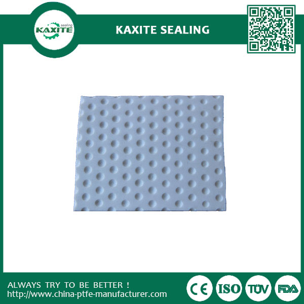 Graphite Filled Teflon PTFE Sheet  Dimple Plates for Bridge