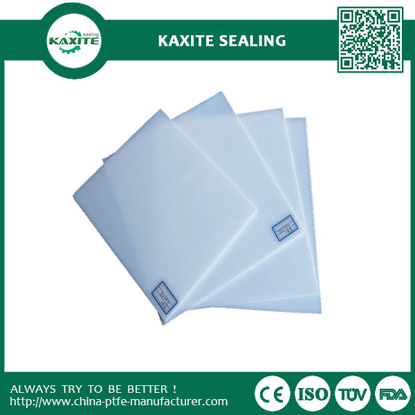 Excellent Chemical property ptfe skived plate  Custom Designed Teflon Ptfe Sheet with non-sticky property