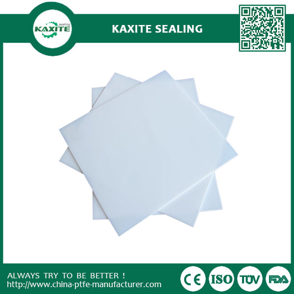 PTFE Teflon Moulded Plate  Custom Designed Anti-corrosion  lined materials Teflon Ptfe Sheet  Lining bearing pads