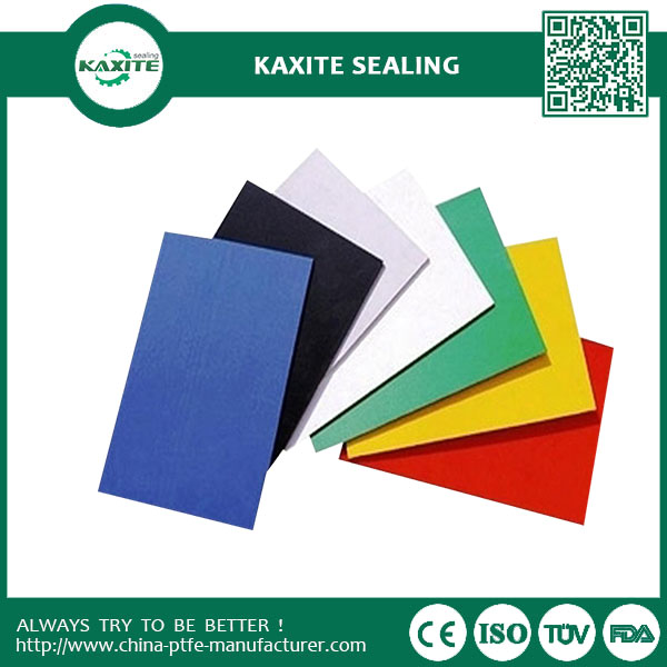 -180 to 260 Color anti-aging moulded teflon ptfe sheet with chemical resistance