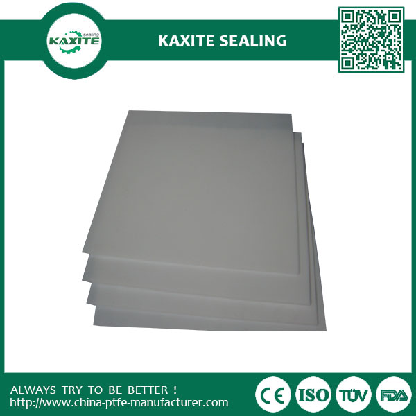 Anti-corrosion Recycled Moulded Teflon Ptfe Sheet With Non-sticking Materials