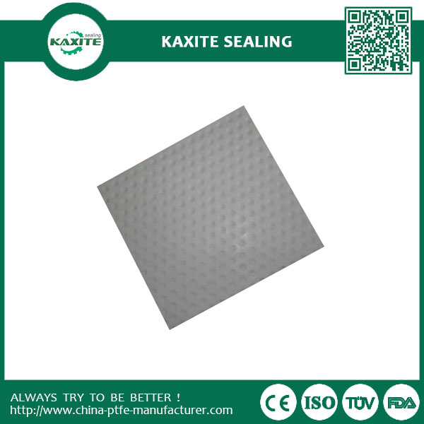 Teflon Ptfe dimple sheet with good corrosion resistance virgin materials  custom designed